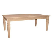 International Concepts Java Coffee Table Unfinished