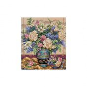 "Dimensions Gold Collection ""Oriental Splendour"" Counted Cross Stitch Kit, 30cm x 36cm"