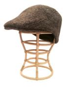 Nirvanna Designs CH513 Babu Ram Hat with Fleece Lining - Natural Brown