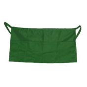 Update International WAP-GR Cotton Twill Waist Aprons - Green