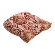 Pillow Perfect 472928 Summer Breeze Chair Cushion in Crimson