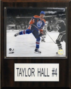 C & I Collectables 1215TAYHALL NHL Edmonton Oilers Player Plaque