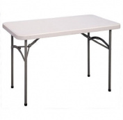 Correll CP2448-33 4 ft. Economy Plastic Rectangular Folding Table