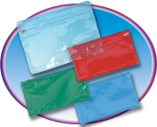 Charles Leonard CHL76370 Pencil Pouch with Ziplock Closure Clear