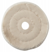Vermont American 10.2cm . Muslin Buffing Wheel 17542
