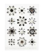 Martha Stewart Crafts Doily Lace Mini Gemstone Stickers