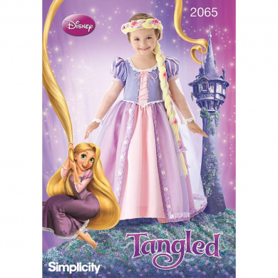 Simplicity Pattern Child's Rapunzel Costumes, (3, 4, 5, 6, 7, 8)