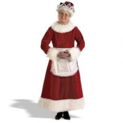 Halco 7056 Mrs. Claus Dress Costume - X-Large 16-18