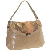 Buxton FDL11021.TN.BX Jasmine Collection Leather Handbag - Tan
