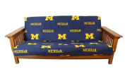 College Covers MICFC Michigan Futon Cover- Full Size fits 8 and 10 inch mats