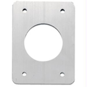TACO Backing Plates f/Grand Slam Outriggers - Anodized Aluminium
