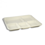 Asean Corporation T009 American Tray - 5 Compartment - 500 pcs