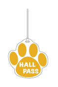 Ashley Productions ASH10354 Gold Paw Hall Pass 4 X 4