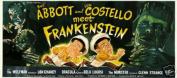 Hot Stuff Enterprise 5218-12x18-LM Abbott and Costello Meet Frankenstein Poster