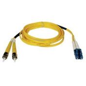 Tripp Lite Fiber Optic Duplex Patch Cable 3.28ft 2 x LC 2 x ST Fiber Optic Duplex Cable Single-mode Yellow N368-01M