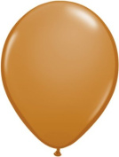 Qualatex 13cm Round Balloons, Mocha Brown - Pack of 20