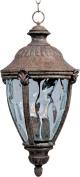 Maxim Lighting 40291WGET Morrow Bay VX 3-Light Outdoor Hanging Lantern - Earth Tone