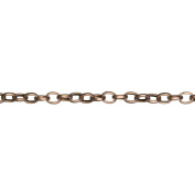 Cousin 150188 Jewerly Basics Metal Chain 1-Pkg-Oval Link-Copper 160cm .