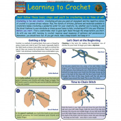 BarCharts- Inc. 9781572229594 Learning To Crochet- Pack of 3