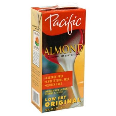 Pacifc Natural Foods 63471 Naturally Almond Original Low Fat Beverage