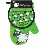 Dublin Gift Wooley Jumper Oven Glove and Pot Holder
