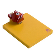 Blancho Bedding RMC004-REDCAT Happy Red Cat - Refrigerator Magnet clip - Magnetic Clipboard