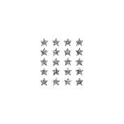 Pro-Art SLCP4503-06488 Sandylion Classpak Stickers-Stars Silver