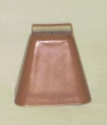 Worens Group Long Distance Cow Bell Copper 4 3 8 Inch - CB900712