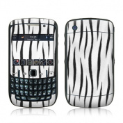 DecalGirl BBC5-TIGER-WHT BlackBerry Curve 8500 Skin - White Tiger Stripes