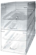 Update International APB-1424FD Acrylic 4 Tray Display Cases