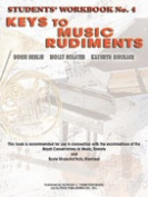 Alfred 00-V1027 Keys to Music Rudiments- Students Workbook No. 4 - Music Book