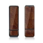 DecalGirl S598-DKBURL Sierra Wireless S598 Skin - Dark Burlwood