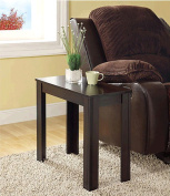 Monarch Specialties I 3111 Cappuccino Accent Side Table