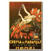 Crema de Naranjas Natural Henzi by Achille Mauzan- 18x24