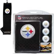 Team Golf 32420 Pittsburgh Steelers Embroidered Towel Gift Set