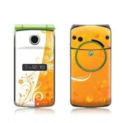 DecalGirl S506-ORANGECRUSH Sony Ericsson TM506 Skin - Orange Crush