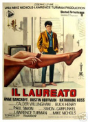 Hot Stuff Enterprise 3275-12x18-LM The Graduate Dustin Hoffman - Italian Poster