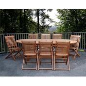 International Home Miami BT GRAND EXT. Amazonia Milano Grand Extendable Table Set