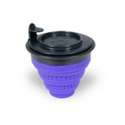 Tuffy Steepers Violet Folding Steeper with Lid 222318