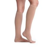 Juzo 2002ADSH14 II Soft 2002 Knee Highs 30-40 mmHg - Size- II Short Style- Open Toe Color- Beige 14
