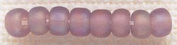 Mill Hill 258625 Mill Hill Glass Beads Size 6-0 4mm 5.2 Grammes-Pkg-Frosted Lilac