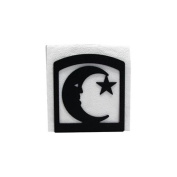 Village Wrought Iron NH-2 Moon and Star Napkin Holder