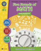 Classroom Complete Press CC3205 Five Strands of Math - Drill Sheets Big Book