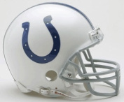 Creative Sports RD-COLTS-MR Indianapolis Colts Riddell Mini Football Helmet