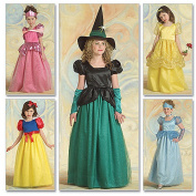 McCall's Patterns M5494 Children's/Girls' Princess and Witch Costumes, Size CCE