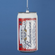 12cm Happy Hour Anheuser Busch Budweiser Beer Can Christmas Ornament