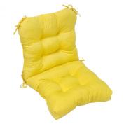 Greendale Home Fashions OC5815-SUNBEAM Outdoor Seat-Back Chair Cushion Sunbeam