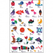 Quilled Creations Q422 Quilling Kit-A to Z Collection