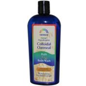Rainbow Research 0581819 Colloidal Oatmeal Bath & Body Wash Fragrance Free 12 oz - 360 ml - 12 oz