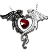 Alchemy Gothic Gothic Coeur Sauvage Dragon Pendant / Necklace